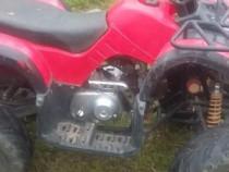 ATV 110 cm3- pornire la buton -marime mijlocie