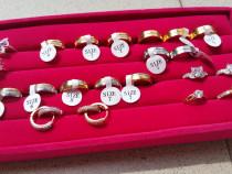Nou verighete placate cu aur 18k