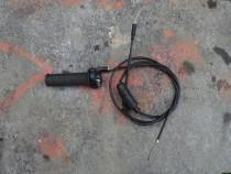 Cablu de acceleratie cu maner piaggio zip 2 t