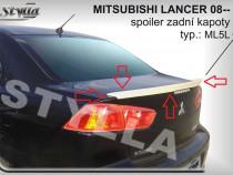 Eleron spoiler portbagaj Mitsubishi Lancer GTS Evo X CY2A CZ