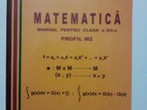Matematica clasa a XII-a, profil M2  - Mircea Ganga  / R3P2S