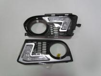 Grila dedicata DRL LED dedicata BMW E92 M-tech