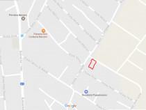 Teren intravilan 809 mp strada Caragiale, langa primarie