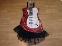 Costum carnaval serbare chitara pentru adulti marime S