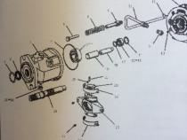 Piese utilaje pompa hidraulica Caterpilar 428B