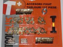 Set complet de accesorii pt fixat tablouri - 117 piese