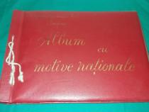 Album cu motive naționale *executat la școala generală nr. 3