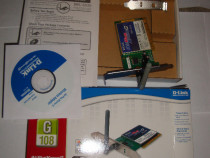 Placa retea wireless D-link DWL-G520 - PCI