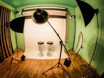 Studio foto lumini continue Efektstudio de inchiriat