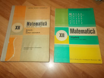 Matematica -cla XII:Elemente de analiza matematica/Algebra E