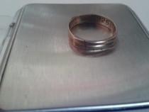 Inel lat mic argint 925, marcat