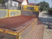 Transport mobila, mutari, materiale constructii