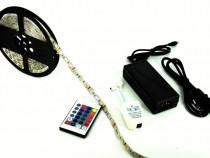 Rola banda RGB 72W 12V+ SURSA alimentare 220V. Lungime 5 m