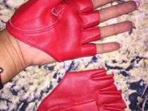 Manusi fashion decupate,rosii
