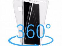 Husa 360 Fata Spate Din Silicon Clar - Samsung J3 J5 J7 2017