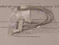 Cablu USB 3in1 – conector Apple, USB A, USB mini
