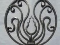 Ornamente din fier forjat pentru porti si garduri.