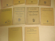 Almanah Sammlung set 10 buc Stiinte naturale carti germane.
