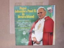 Vinil Papa Ioan Paul al II-lea nov.1980-vocea Suveranului