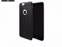Husa slim tpu moale hoco iphone 6 Plus 6s Plus aspect carbon