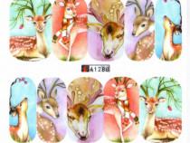 Nou Abtibilduri unghii cu animale