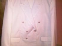 Costum camgarn alb