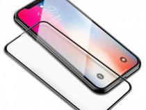Iphone X XS 10 - Folie Sticla Securizata 5D Curbata Neagra