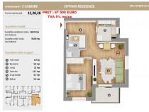 Apartament 2 camere Optima Residence Pallady, decomandat
