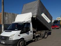 Transport marfa basculabil