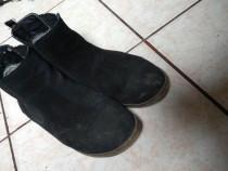 Ghete pantofi piele intoarsa