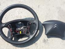 Volan piele cu airbag Citroen C5