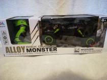 Masinuta monster truck aliaj tractiune 4x4 suspensie