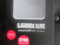 Action cam SJCAM 5000X Elite 4k, girostabilizare