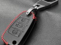Husa piele pentru cheie Audi A6 4F ...