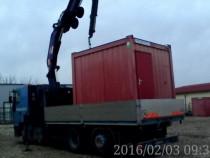 Servicii de transport si manipulare cu platforma si macara