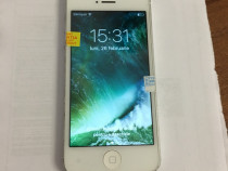 Iphone 5 silver 32 gb neverlocked