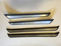 Set 4 Ornamente Praguri Peugeot 607 Interioare Originale Usi