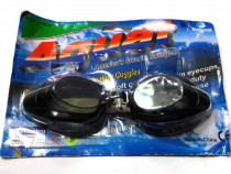 Set echipament inot, ochelari sport, negri, dopuri, suport s