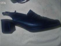 Pantofi / sandale, mar .39, integral piele naturala