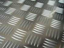 Tabla aluminiu striata 5x1250x2500 Quintett antialunecare