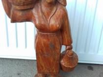 Statueta statuie lemn tarancuta