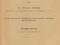Cartea Manual Elementar de Drept Roman, Paris, 1924