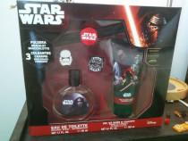 Set cadou pentru baie Star Wars + jibbitz charms