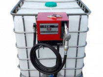 Recipient Bazin IBC 1000L cu pompa  Cube56 Piusi Italia