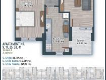 Apartament 2 camere spatioase, imobil nou, Pallady