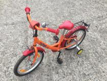 "Bicicleta Copii Teddy cu Roti de 18""Varsta 3-7 Ani"
