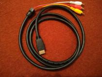 Cablu RCA - HDMI