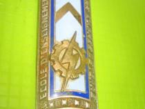 Insigna Scoala invatatura Militara Tehnica Armatei Terestre