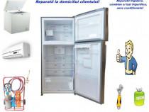 Reparatii frigidere, lazi frigorifice la domiciliu