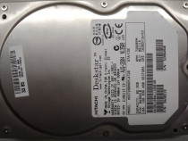 """Vintage hard disk ide 3,5"""" hdd-82,3 gb hitachi hds72808plat2"""